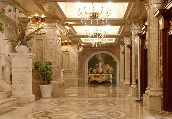 商务酒店大理石安装工程