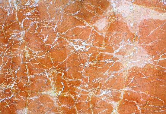 珊瑚红大理石